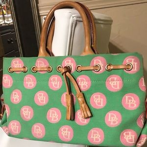 🔥🔥Dooney & Bourke Bags / Pink and green color